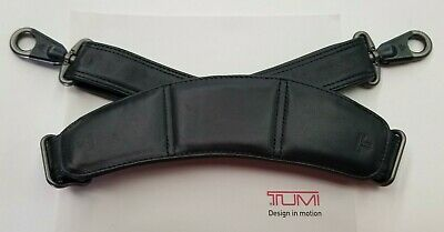New Tumi Leather or Nylon Replacement Shoulder Strap for Luggage or Briefcases