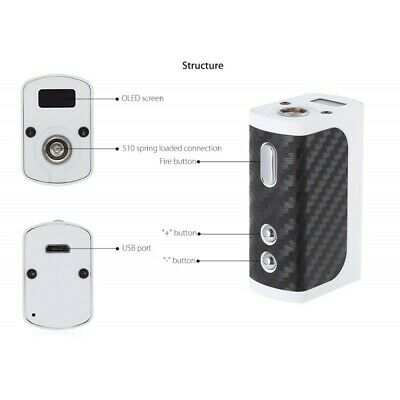 Mini Volt 40 W Brand New White-Black With Usb Charger Included