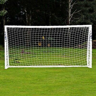 White Football Soccer Goal Post Nets Sports Training Match Replace (Only Net) RF
