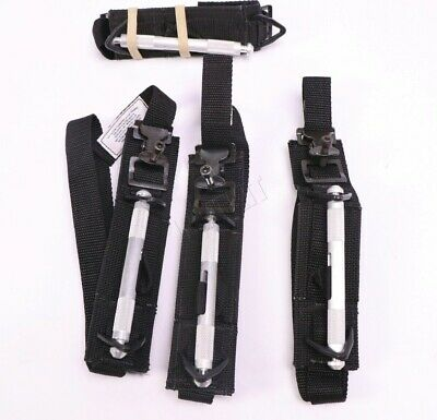 """FOUR (4x) Tactical Medical Solutions SOF Tourniquet 1.5"""" Wide SOFTT-W Navy SEAL"""