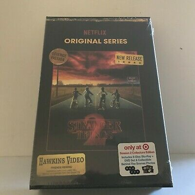 NEW Stranger Things Season 2 Collectors Edition - BTS Photos & Blu Ray & DVD Set