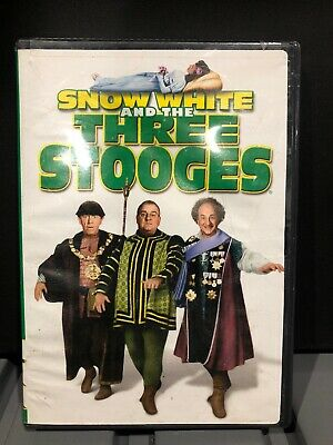 Snow White and the Three Stooges DVD