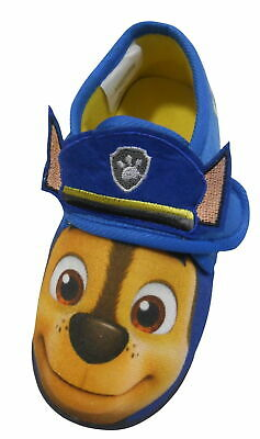 """Paw Patrol """"Chase"""" Toddler  Boys Slippers"""