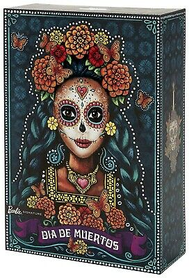 "Barbie Day of the Dead Barbie Doll Dia De Muertos ""READY TO SHIP"""