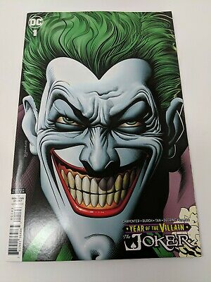 JOKER Year Of The Villian 1 Retailer Variant DC Comics 1st Print Bolland