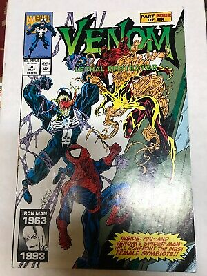 Venom Lethal Protector #4 Marvel Comics 1993 1St Appearance Scream