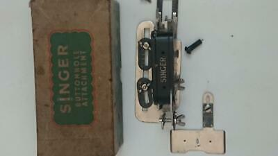 Vintage Singer Sewing Machine  ButtonHole attachment 86662  in box