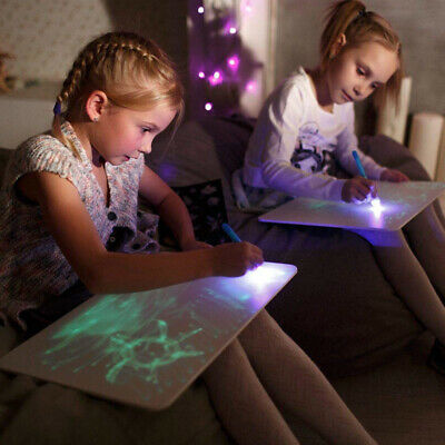 Draw With Light Fun And Developing Toy Drawing Board Magic Draw Educational ZZ