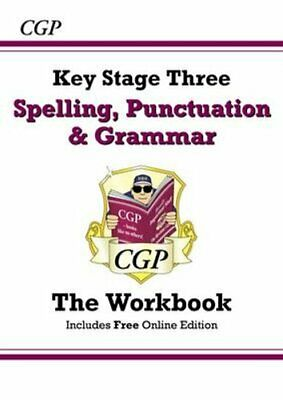 Spelling, Punctuation and Grammar for KS3 - Workbook by CGP Books 9781847624086