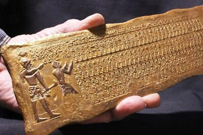 KING LIST OF SETI 1 Abydos 1290 BC Egyptian relief ancient replica
