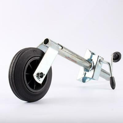 100kg Stainess Steel 35MM Jockey Wheel Clamp Trailer Caravan Heavy Duty