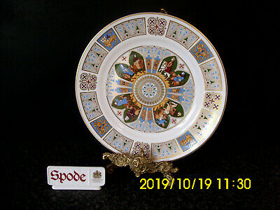 Spode Cabinet Plate First Canterbury Pilgrim Boxed