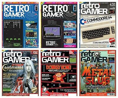 Retro Gamer Magazines, 2004-2016, Massive Collection, PDF Files, DOWNLOAD