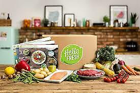 HELLO FRESH gift card $80 USD worth ( voucher) electronically