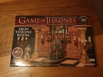 Game of Thrones - Iron Throne Room Construction Set (HBO) BRAND NEW
