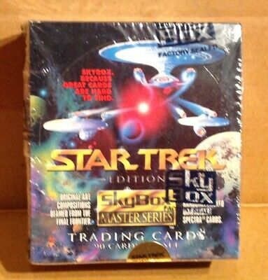 Star Trek TWO 2 Master Series Box 1993 Skybox STAR TREK TRADING CARD  - 36 PACKS