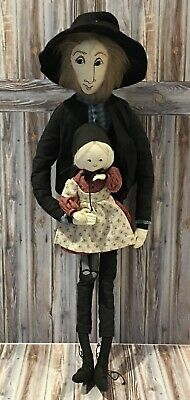 Benjamin & Elisabeth by P. Buckley Moss Signed & Numbered 426/5000 Amish Dolls