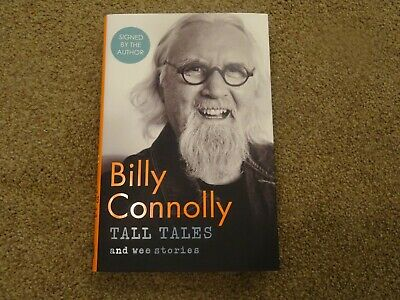 Billy Connolly - Tall Tales And Wee Stories - Hand Signed 1St Edition - New H/B!