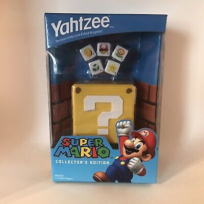 Super Mario Bros. Collector's Edition Yahtzee - Brand New in Box