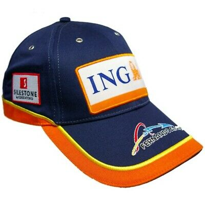 Cap Formula One 1 Renault F1 Team NEW! Alonso Navy