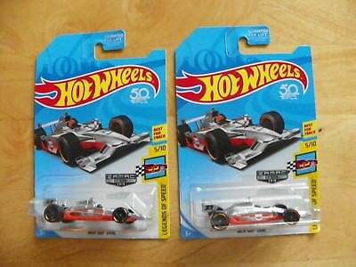 Hot Wheels 2018 Indy 500 Oval Gulf Racer Zamac And Error Zamac