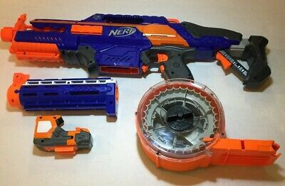Nerf N-Strike RapidStrike CS-18 Motorized Dart Blaster Barrel Scope 25x Drum