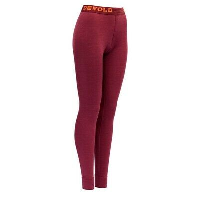 DEVOLD Expedition Long Johns W Beetroot 155-111 740A/ Ropa Montaña Mujer