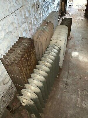 Vintage cast iron steam hot water radiators - more than 1 for purchase