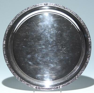 Sheffield ATKIN BROTHERS Silverplated Tray Ø 26,5 cm