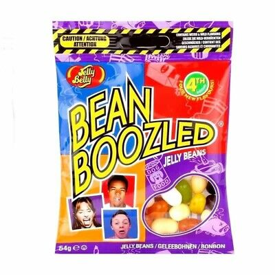 Jelly Belly Bean Boozled 5th Edition 54g Refill Candy Bags Crazy Flavours - New