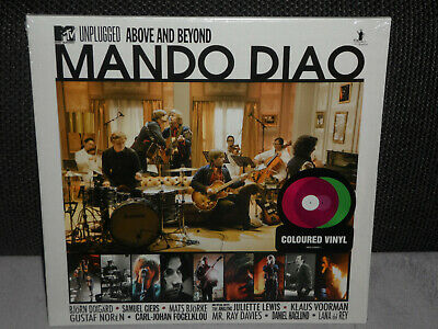 MANDO DIAO-MTV Unplugged-Above And Beyond 2 x Coloured Violet and Green Vinyl LP