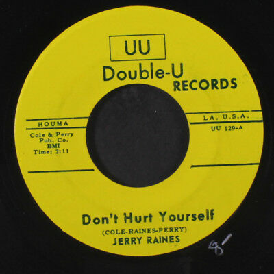 JERRY RAINES: Teenage Summertime / Don't Hurt Yourself 45 (obscure one from the