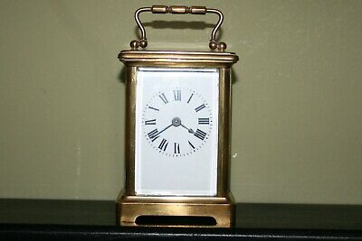 French Carriage Clock With Original Box