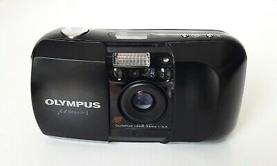 OLYMPUS mju I MJU 1 Compact 35mm Vintage Camera photo argentique # VOIR PHOTOS #
