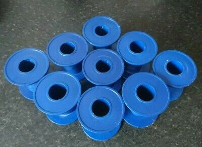 Solder wire Reels Bobbins Blue Plastic Perfect for Solder, Wire or Thread