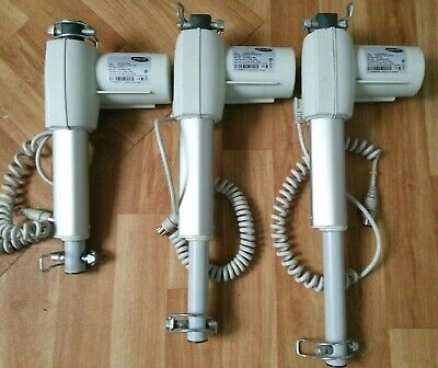 3 x Invacare Motors Actuators 24v bed adjustable
