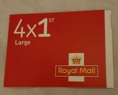 Royal Mail 4 X Large 1st class stamps