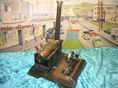 Märklin Dampfmaschine Nr.5 Vorkrieg Germany Live Steam Tin Tole Latta Vapeur