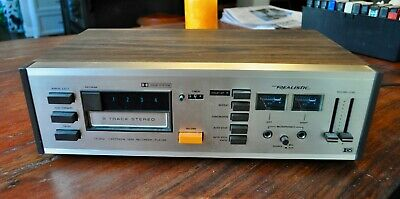 Realistic Tr-802 Dolby 8-Track Recording Deck