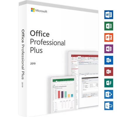 Microsoft Office Professional Plus 2019 - Brand New Sealed Package