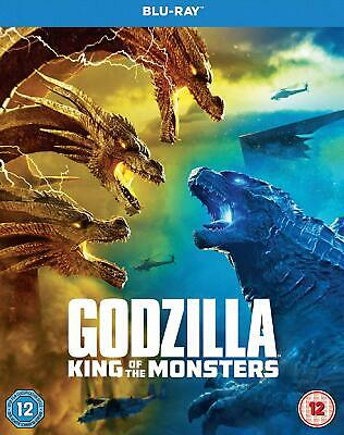 Godzilla: King of the Monsters Blu-ray + slipcase brand new shrink wrapped