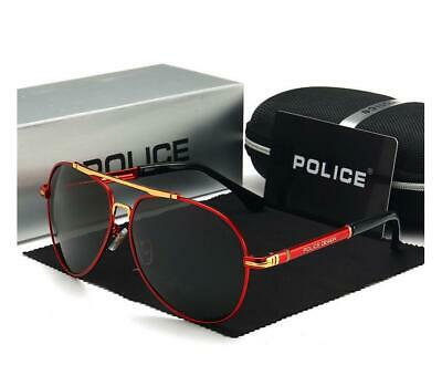 Police Men's Polarized Sunglasses 4 Colors With Box Classic Driving Glasses LK34