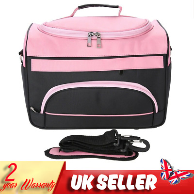 Hairdressing Hair Equipment Storage Salon Tool Carrying Side Bag Travel Pink Box
