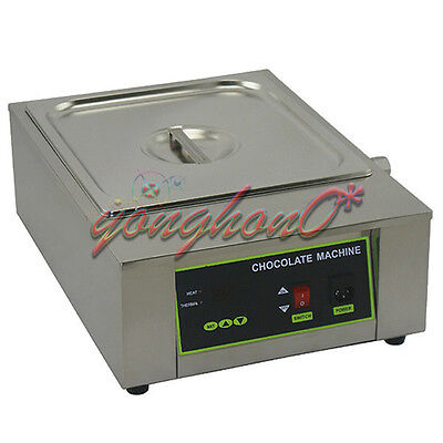 NEW Single Tank 8.5kg Chocolate Tempering Machine Chocolate Melting Machine 220V