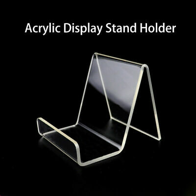 Book/Shoe/Phone/Tablet Acrylic Display Stand Perspex Retail Cookbook Holder