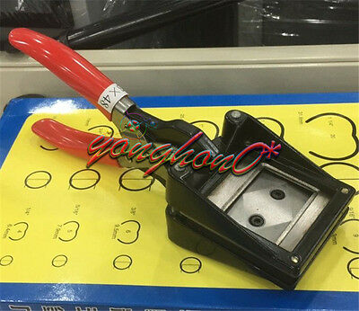35 x 45mm Hand Held ID Card License Photo Picture Punch Cutter Cutting Tool
