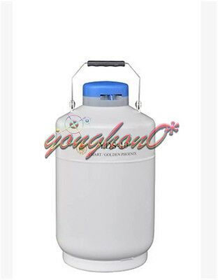 YDS-10 10L Cryogenic Liquid Nitrogen Container LN2 Tank Dewar with Straps