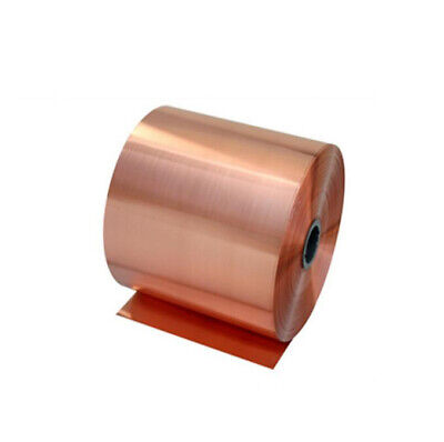 1 meter copper belt 0.1/0.2/0.3mm thickness 10mm-50mm width red-copper foil band