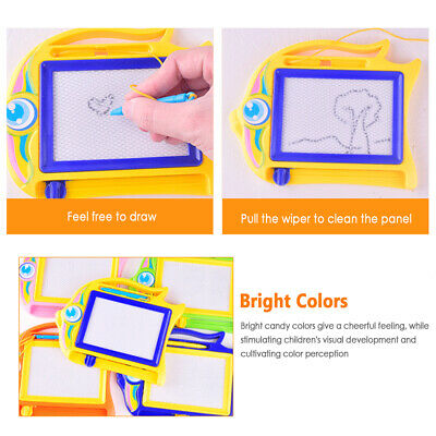 magnetic drawing board sketch pad doodle rewritable craft for children kids xz
