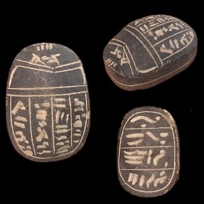 Beautiful Ancient Egyptian Scarab 300 Bc (2)